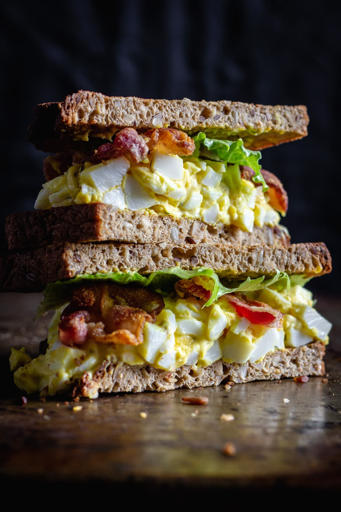 Keto Egg Salad sandwich