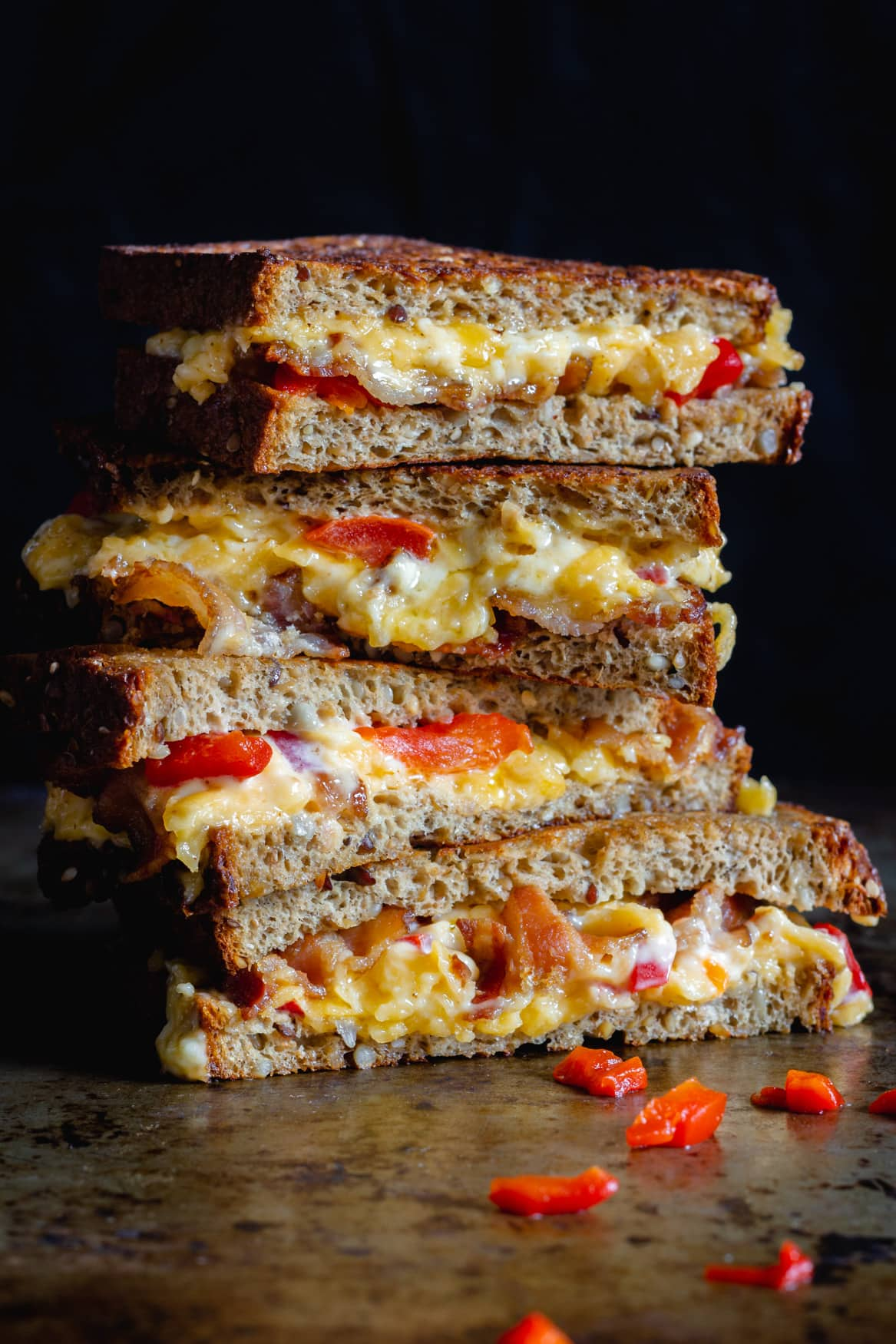 Keto Grilled Bacon & Pimento Cheese Sandwich
