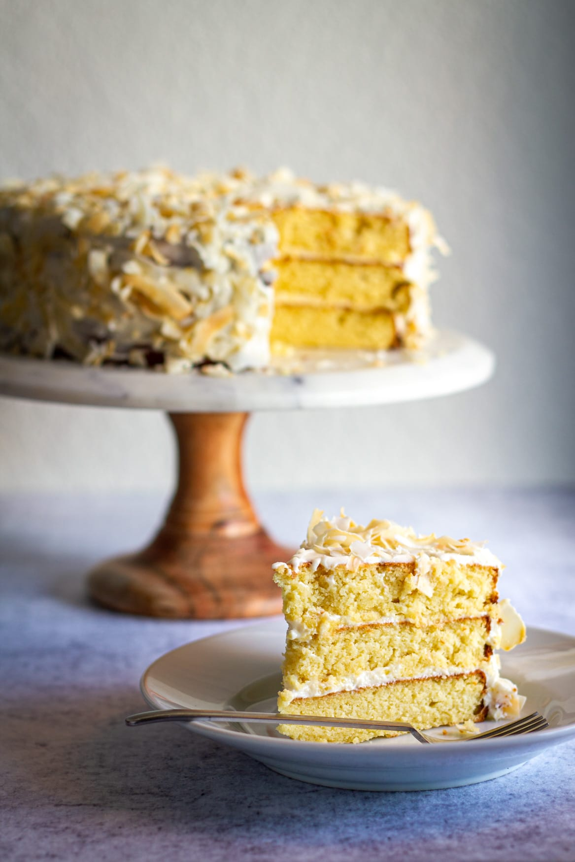 Keto Coconut Cream Cake